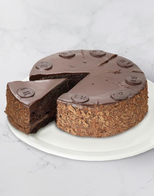 birthday Chateau Gateaux B1 Chocolate Cake