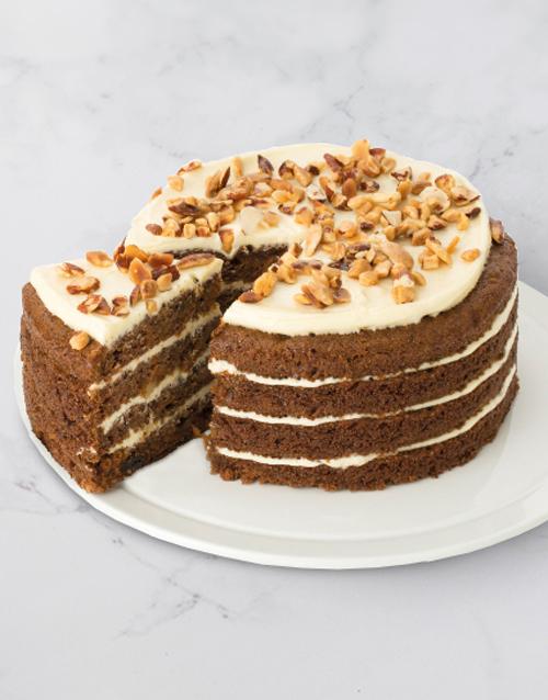 birthday Chateau Gateaux Swiss Carrot Cake