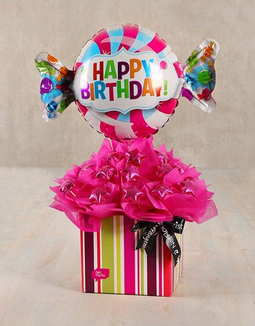 birthday Sweet Happy Birthday Edible Arrangement