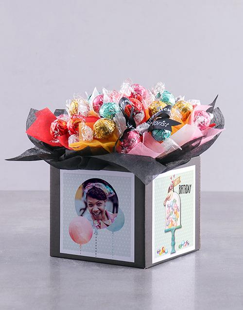 Personalised Happy Birthday Lindt Box