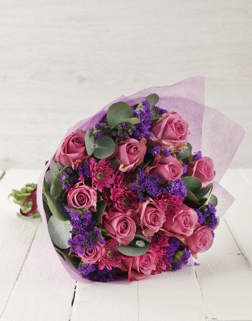 birthday Lavish Lilac Bouquet