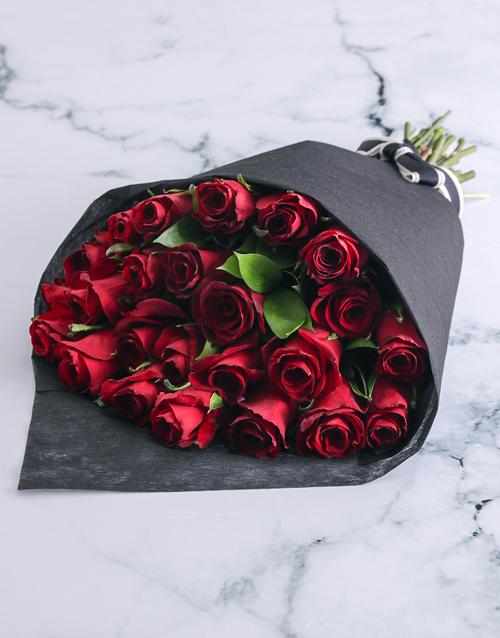 birthday Seductive Red Roses