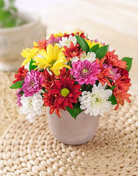 birthday Rock The Daisies Vase