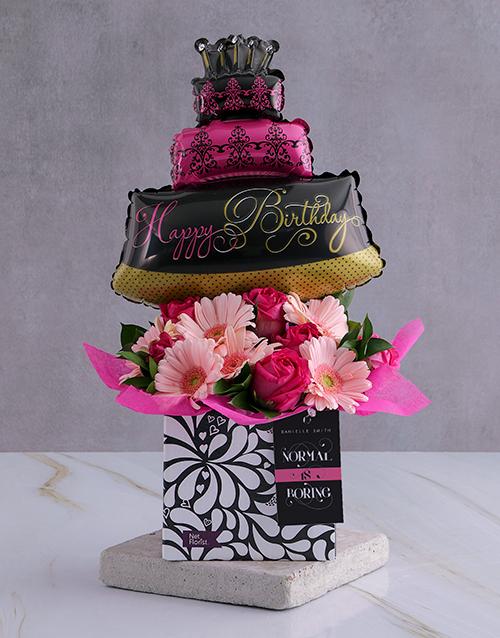 birthday Personalised Birthday Balloon Arrangement