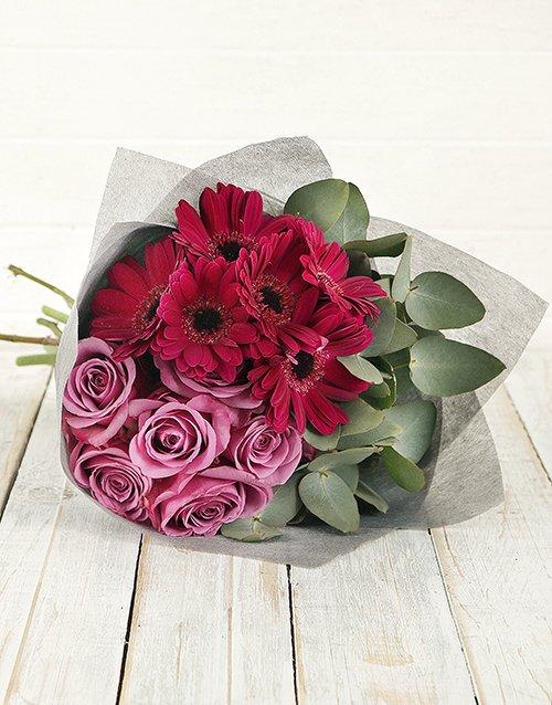 birthday Perfectly Purple Bouquet