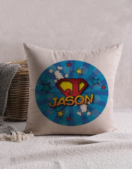 Super Kid Personalised Scatter Cushion
