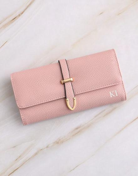birthday Personalised Pink Long Purse