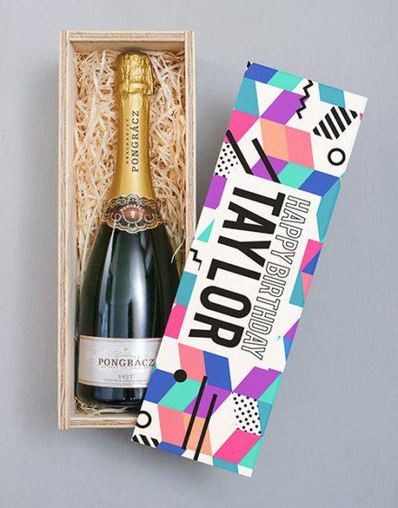 Happy Birthday Pongracz Personalised Crate