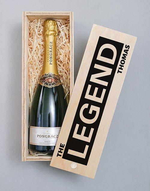 Legend Pongracz Personalised Crate