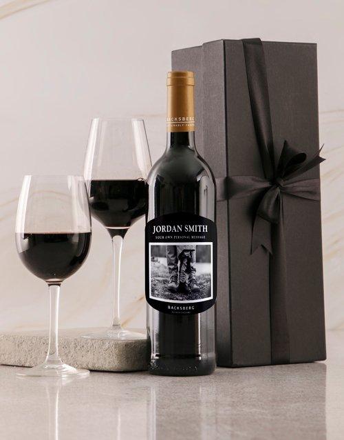 Black Label Backsberg Personalised Wine