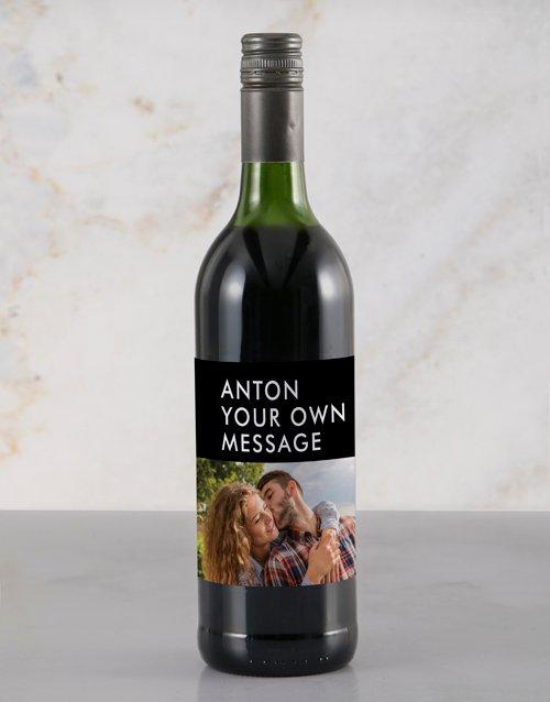 Stylish Photo Rietvallei Personalised Wine
