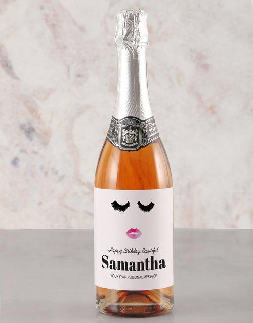 Glamour Birthday Rietvallei Personalised Wine