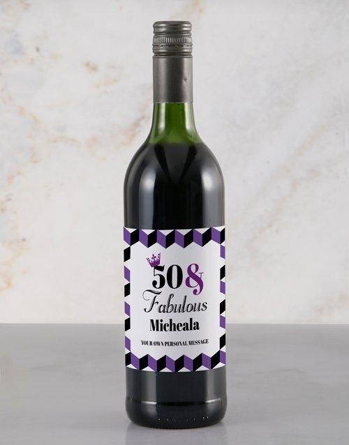 Fabulous Rietvallei Personalised Wine