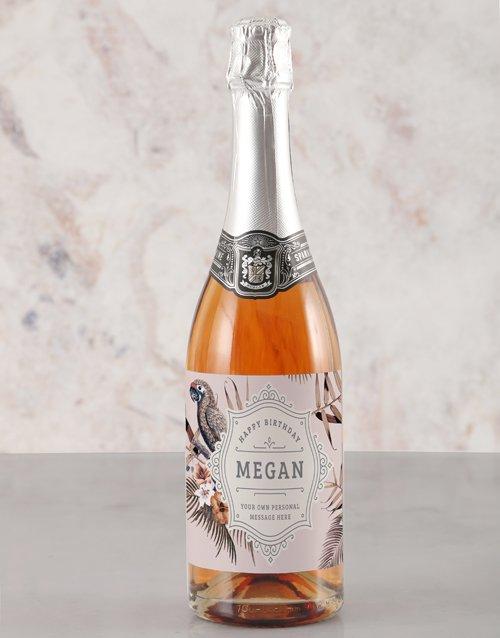 Birthday Tropics Rietvallei Personalised Wine