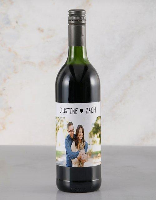 Heartfelt Photo Rietvallei Personalised Wine