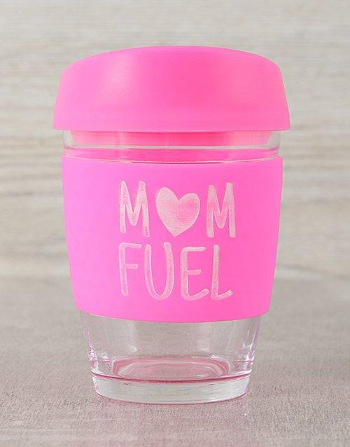 Personalised Mom Fuel Travel Mug
