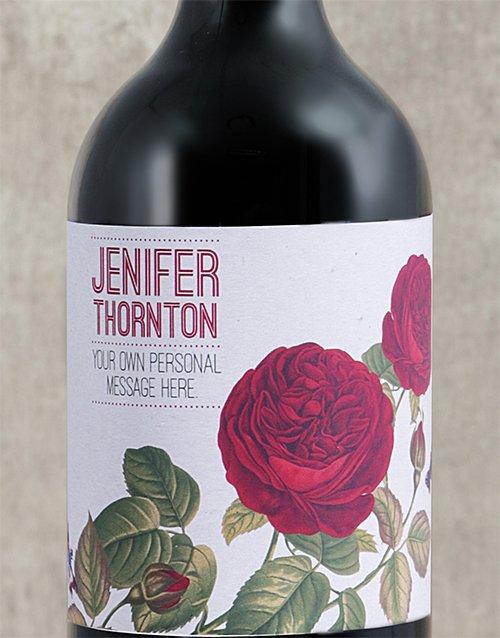 Rose Rage Personalised Wine