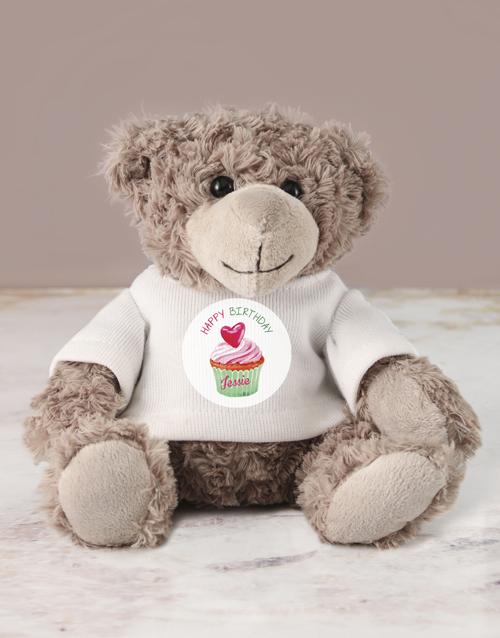 birthday Personalised Happy Birthday Jersey Teddy