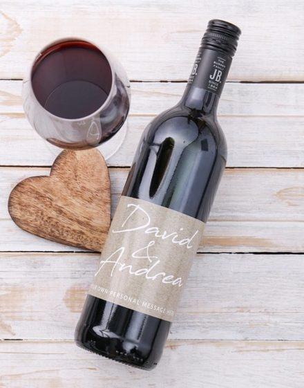 Couples Signature Personalised Wine