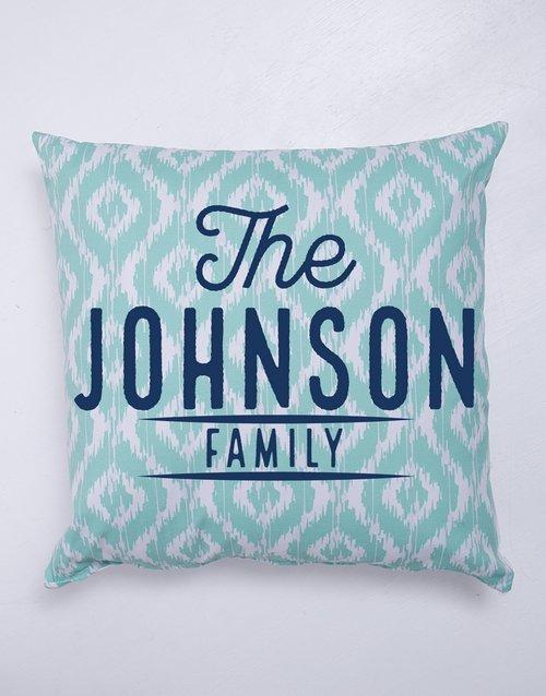 Family Blanket or Cushion