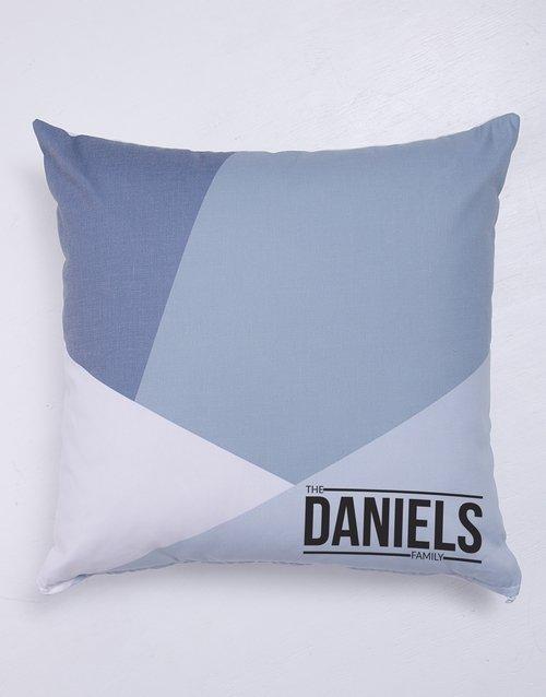 Geo Family Blanket or Cushion