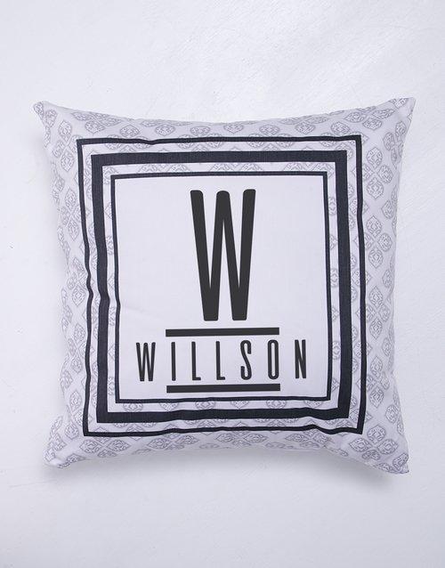 Modern Name Blanket or Cushion