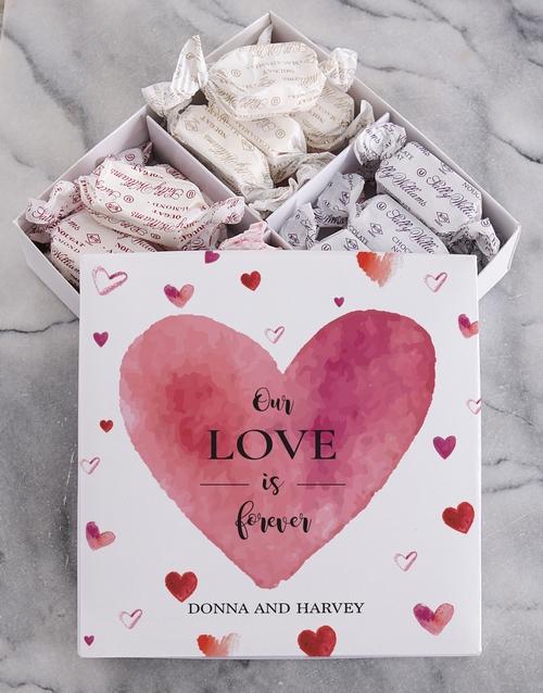 Personalised Love Sally Williams Nougat Box
