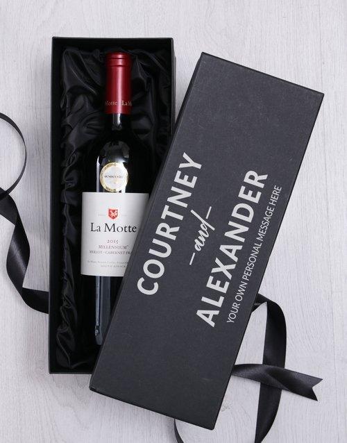 Love Personalised Wine Giftbox
