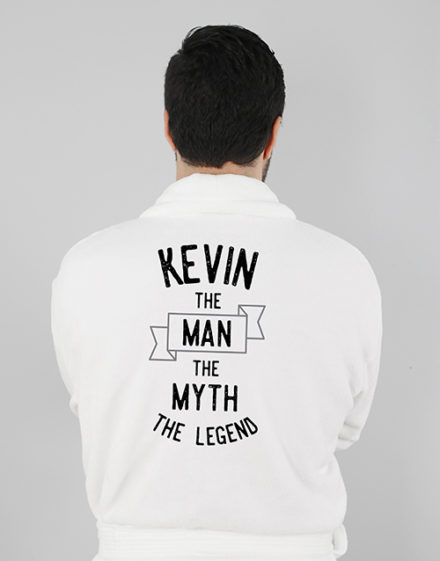 mothers-day Personalised The Legend Mens Gown