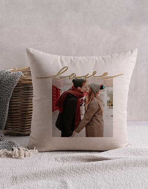Love Photo Personalised Scatter Cushion