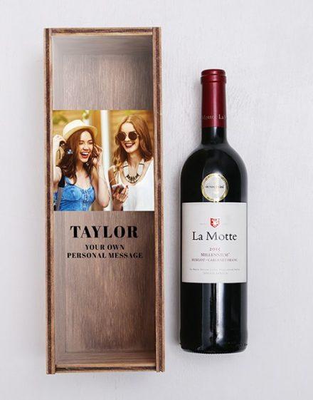 La Motte Personalised Wine Crate