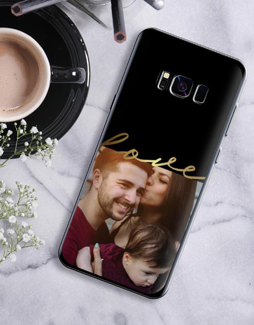 birthday Personalised Love Photo Samsung Cover