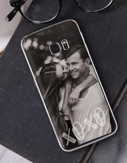 birthday Personalised XO Photo Samsung Cover