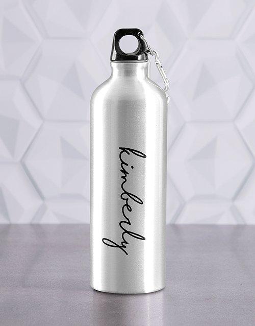 Personalised Signature Waterbottle