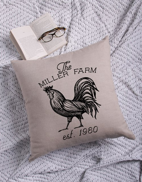Farm Personalised Scatter Cushion