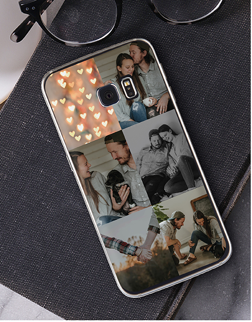 mothers-day Personalised Six Photo Samsung Cover