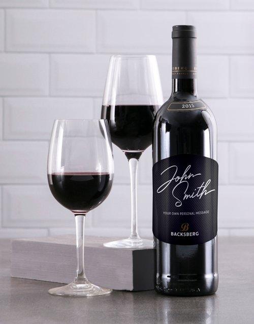 Signature Backsberg Personalised Wine