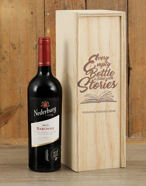 Bottle Stories Nederburg Crate