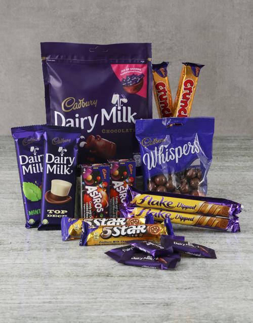 mothers-day Decadent Cadbury Hamper