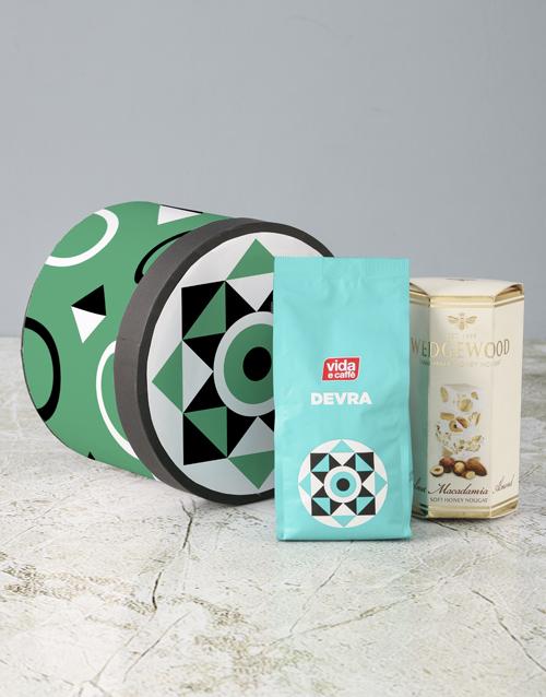 mothers-day Vida Devra Coffee Hat Box