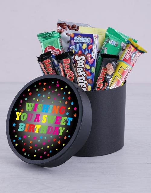 birthday Sweet Birthday Hat Box