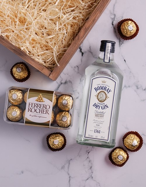 birthday Bombay Dry Gin Hamper