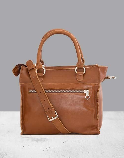 mothers-day Zemp Bastille Toffee Tan Handbag