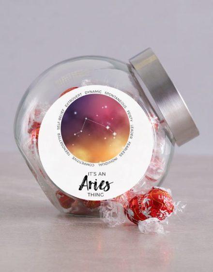 birthday In the Stars Candy Jar