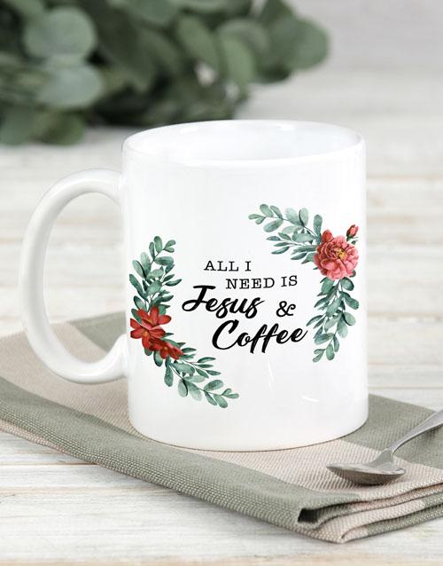 mothers-day Jesus And Coffee Mug
