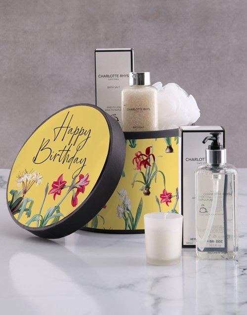 birthday Charlotte Rhys Happy Birthday Gift Hamper