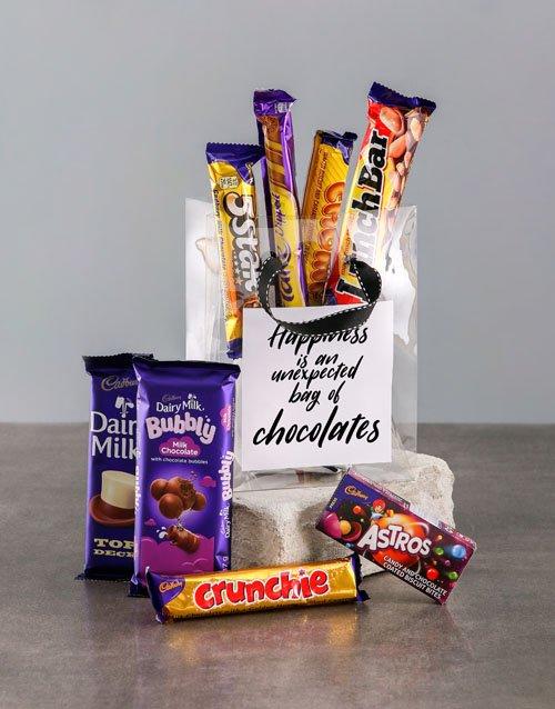 Bag of Chocolate Happiness