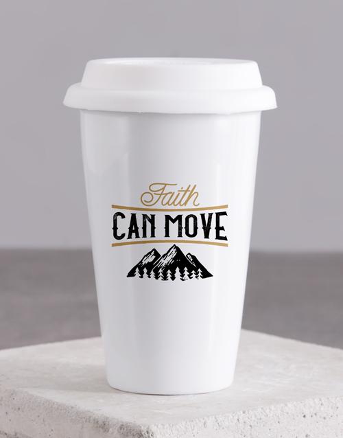 mothers-day Faith Can Move Travel Mug
