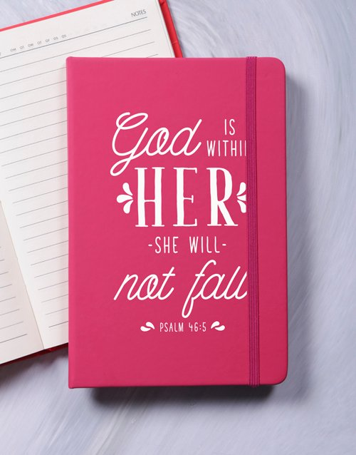 mothers-day She Will Not Fail Journal