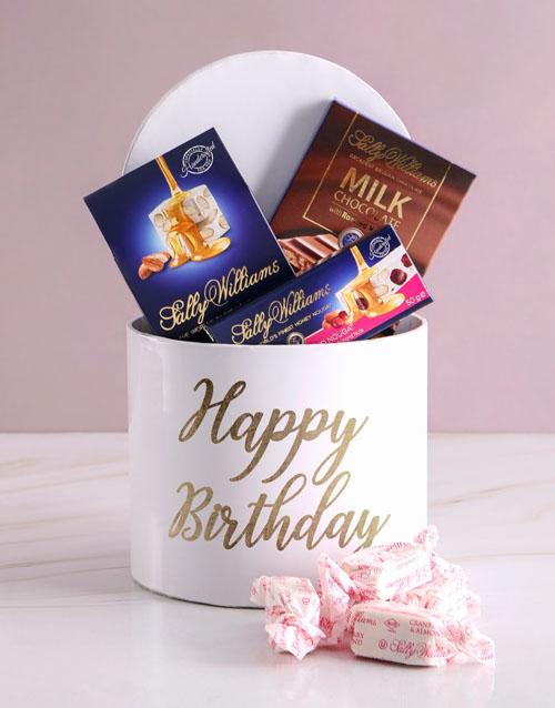 birthday Sally Williams Happy Birthday Hat Box